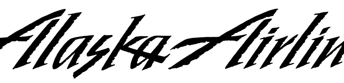 Dia Calhoun Lettering Artist Alaska Airlines Logo