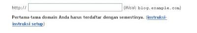 Mengganti Domain Blogspot ke Domain CO.CC