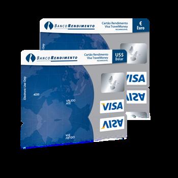 Saque Visa Travel Money Rendimento
