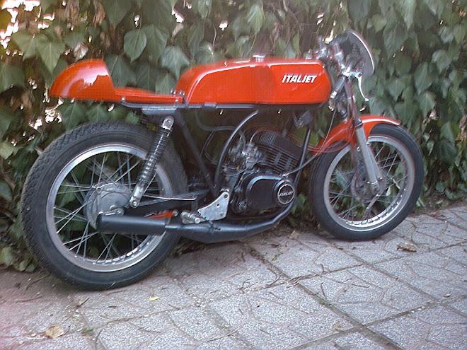 ITALJET BUCCANEER 125 PRONTO GARA