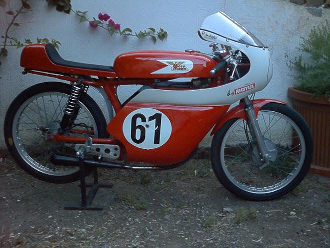 moto morini corsarino 60 cc dopo