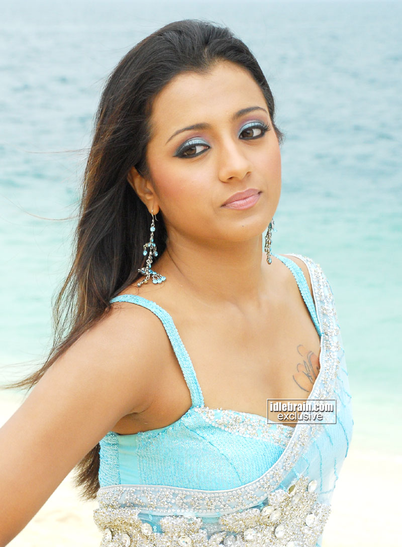 Bollywood Hot Actress Hot Scene Trisha Krishnan Hot -2931