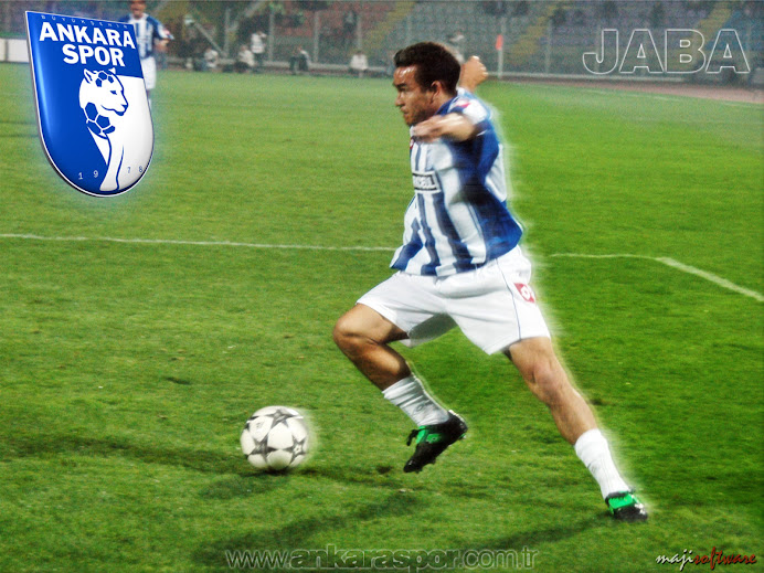 Jaba Pelo seu ex-time o Ankaraspor/Tur