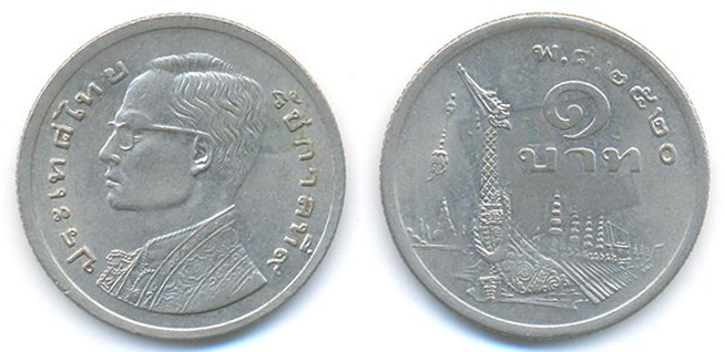 Jamila S Coins And Notes Collection Thailand Coins 2