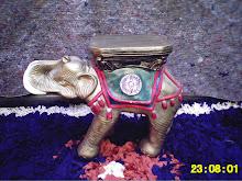 elefante de base em gesso