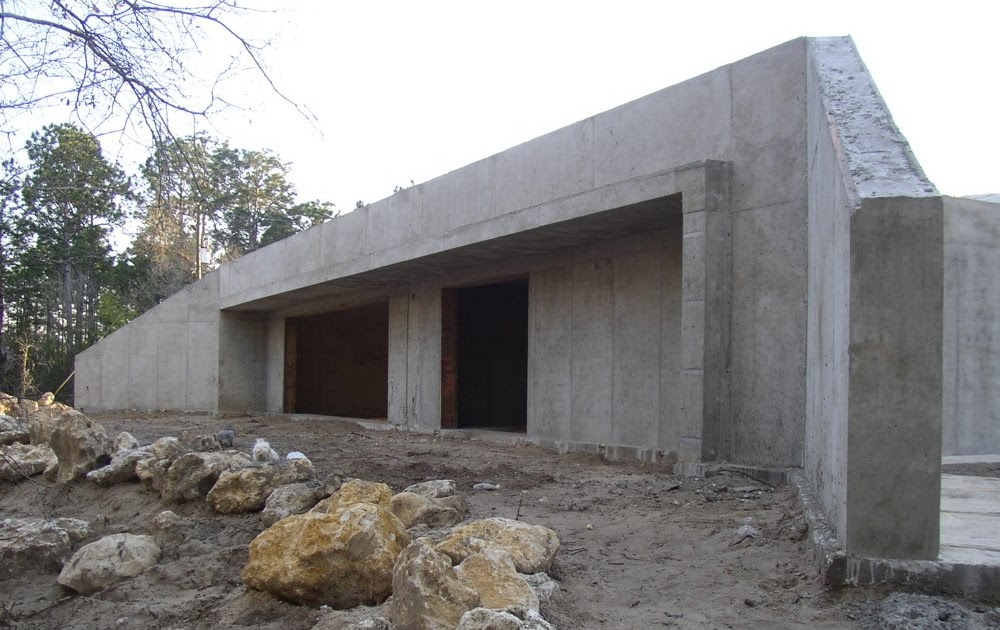 Earth sheltered house in dunnellon fl basic structure for Earth sheltered structures
