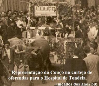 O Couço num cortejo em Tondela (anos 50)