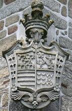 Brasão da Casa real de carvalhal de mouraz
