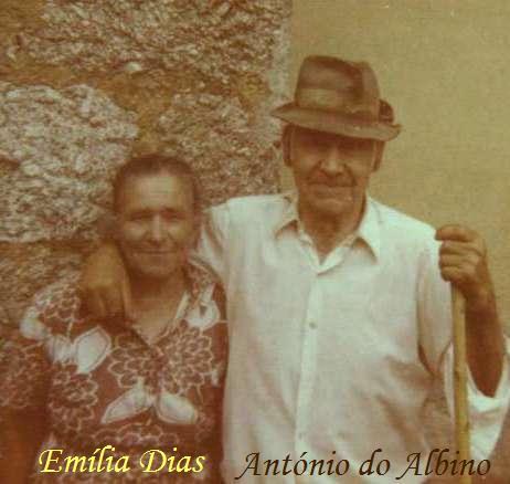 O casal António Fernandes da Silva e Emília Dias