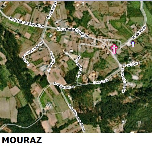 MOURAZ (sede da freguesia)