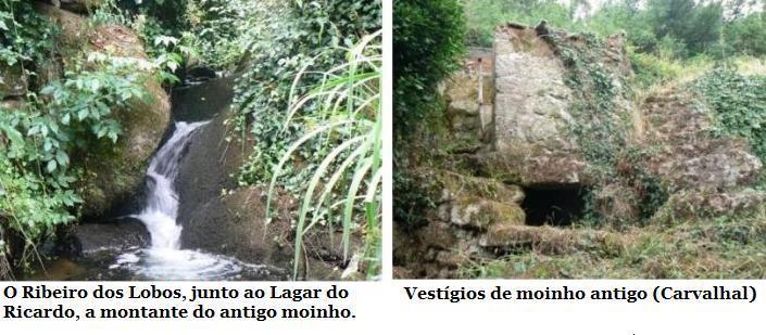 Moinho no Ribeiro dos Lobos (Carvalhal)
