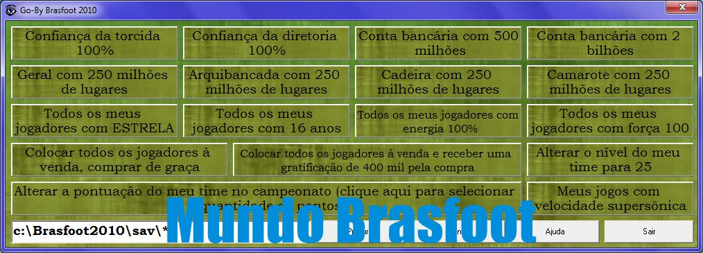 trapaceador do brasfoot 2011 gratis