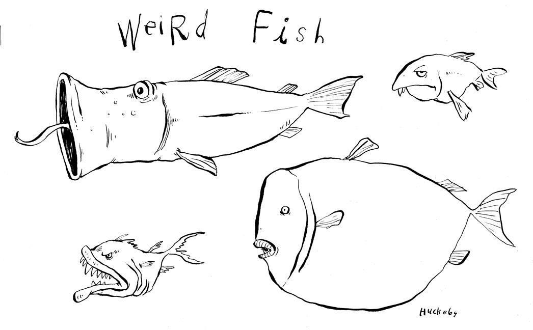 Huckart ( jon huckeby's blog ): Weird Fish part 2