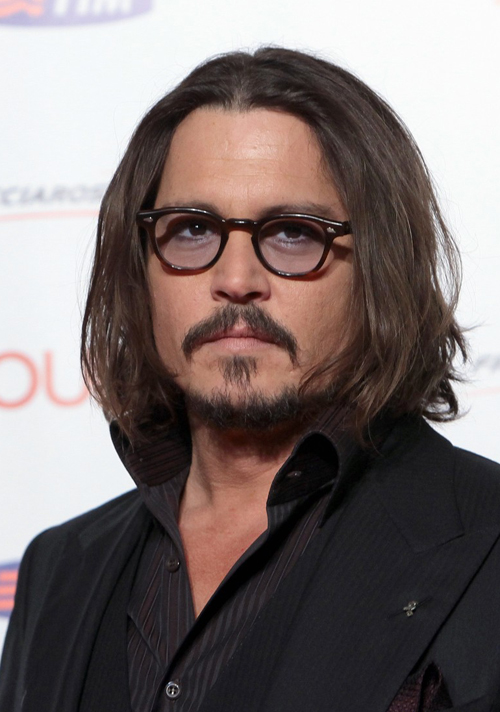 Lokss Eyewear  Sempre com óculos  Johnny Depp 081ffc81e1