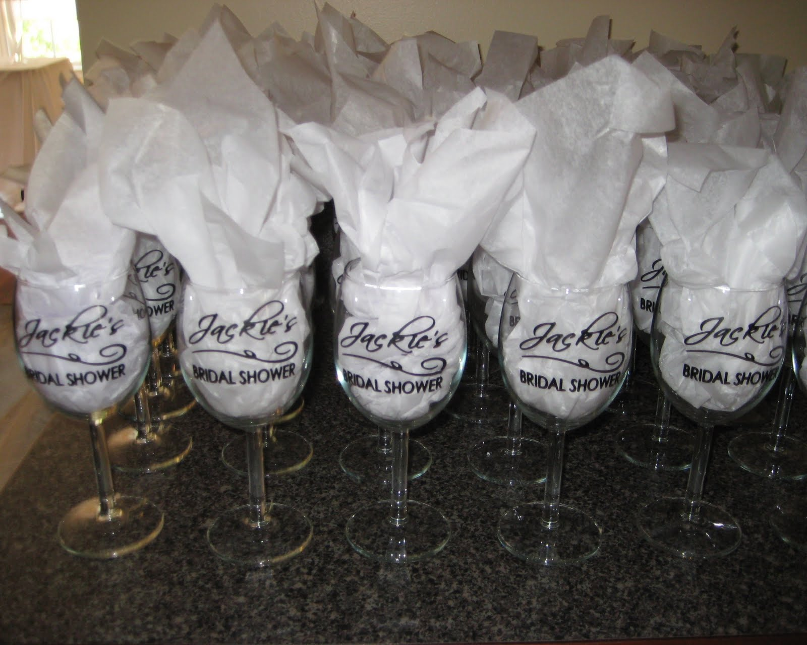 For All Things Creative All White Bridal Shower