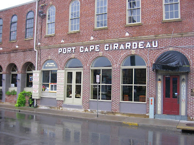 The Port Cape Girardeau Restaurant And Lounge Is One Of Oldest Buildings In It Has Ancd Warehouse Row On Riverfront Since At