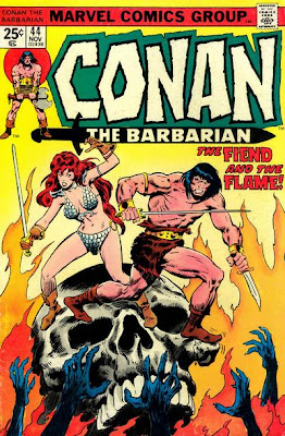 Conan the Barbarian #44, Red Sonja, John Buscema and Neal Adams