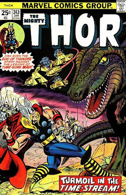Mighty Thor #243, John Buscema, the Tomorrow Man