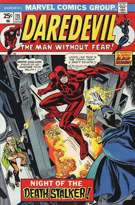 Daredevil #115, Deathstalker, cover