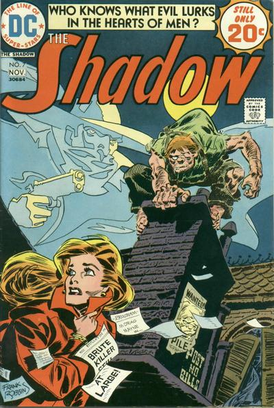 DC Comics' The Shadow #7, Frank Robbins