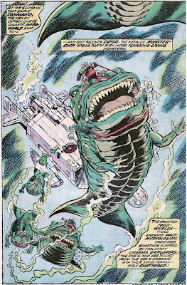 Incredible Hulk #164, Captain Omen,toad whales