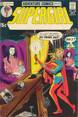 Adventure Comics #408, Supergirl, ghost