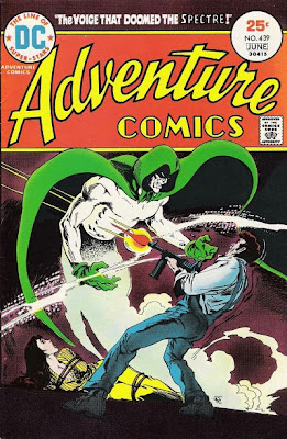 Adventure Comics #439, Jim Aparo, The voice that doomed the Spectre