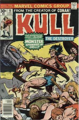 Marvel Comics Kull the Destroyer #18