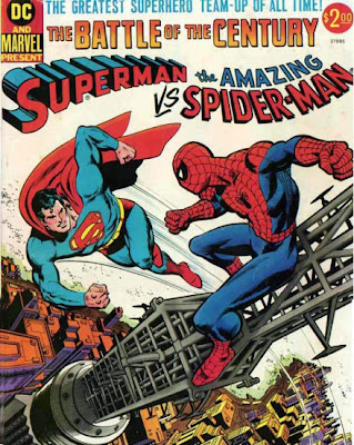 Superman meets the Amazing Spider-Man Marvel DC Treasury Edition, Ross Andru, Neal Adams, Dick Giordano