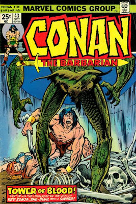 Conan the Barbarian #43, Red Sonja