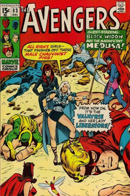 Avengers #83, the Valkyrie