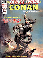 Savage Sword of Conan #4, Iron Shadows in the Moon