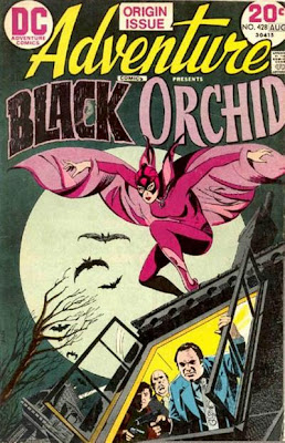 Adventure Comics #428 Black Orchid's first appearance