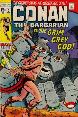 Conan the Barbarian #3 Grim Grey God