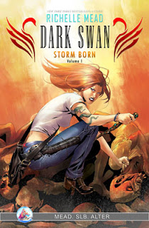 Sea Lion Books Announces Graphic Novel Deal with Richelle Mead for Dark Swan Series