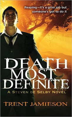 Review: Managing Death by Trent Jamieson - 5 Qwills
