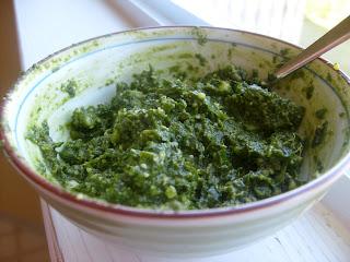 Salutetosanity Pesto Pasta