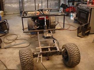 Ed S Metal Creations Homemade Utility Vehicle