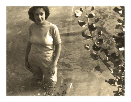 Retrato en la cascada - 1958