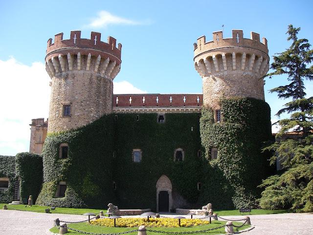 castillo de Peralada, castell de Peralada