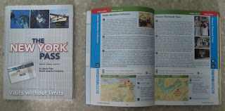 libro new york pass, new york pass book