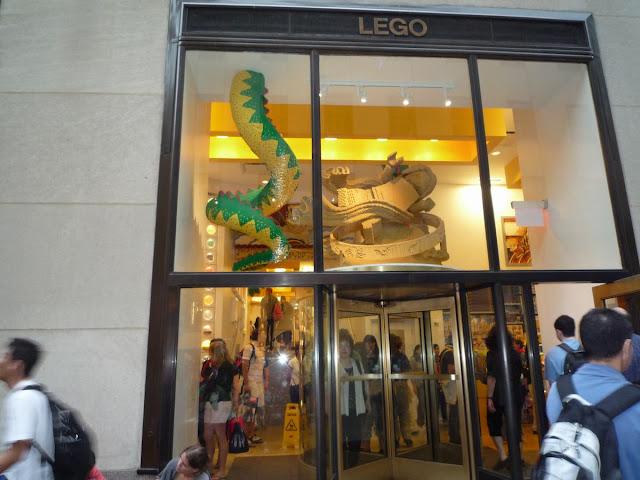 tienda Lego Nueva York