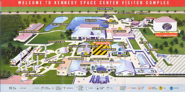 kennedy space center mapa