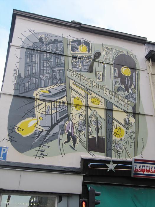 Mural Dupuy & Berberian - Monsieur Jean