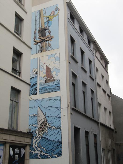 Mural Bob de Moor - Cori le Mousaillon