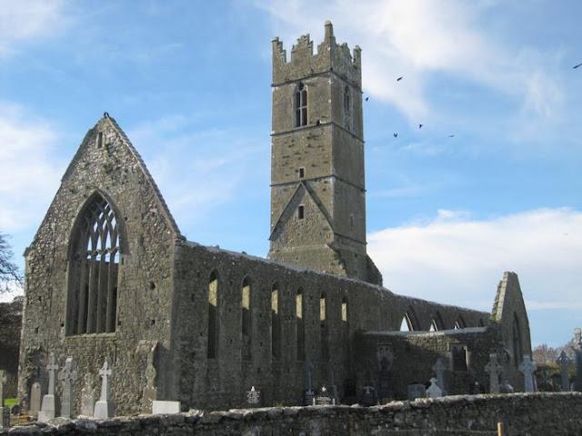 La abadía o monasterio de Claregalway
