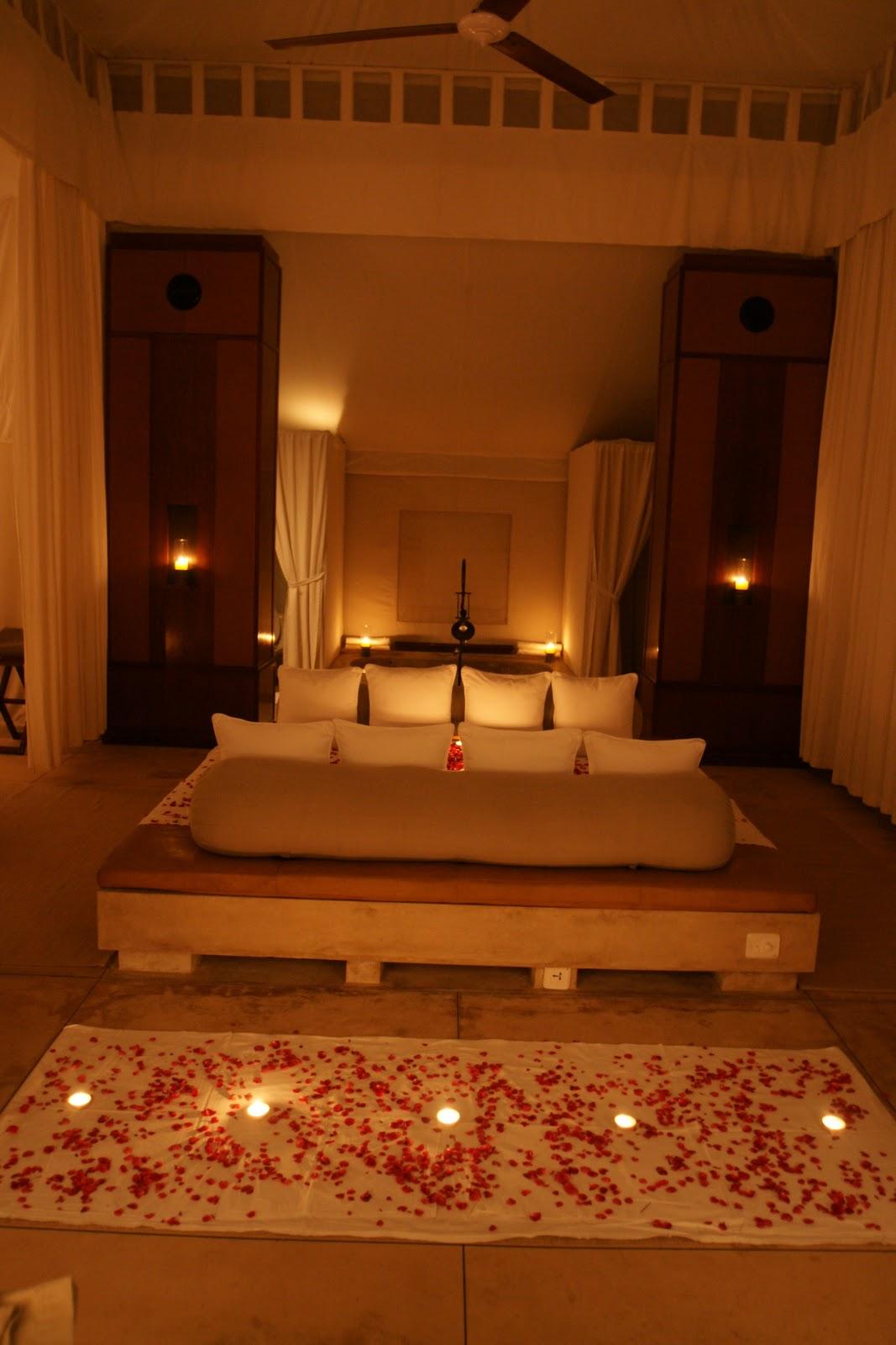 Romantic Hotel Room Ideas: N&Z Honeymoon