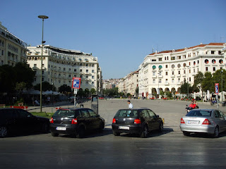 a square in Thessaloniki