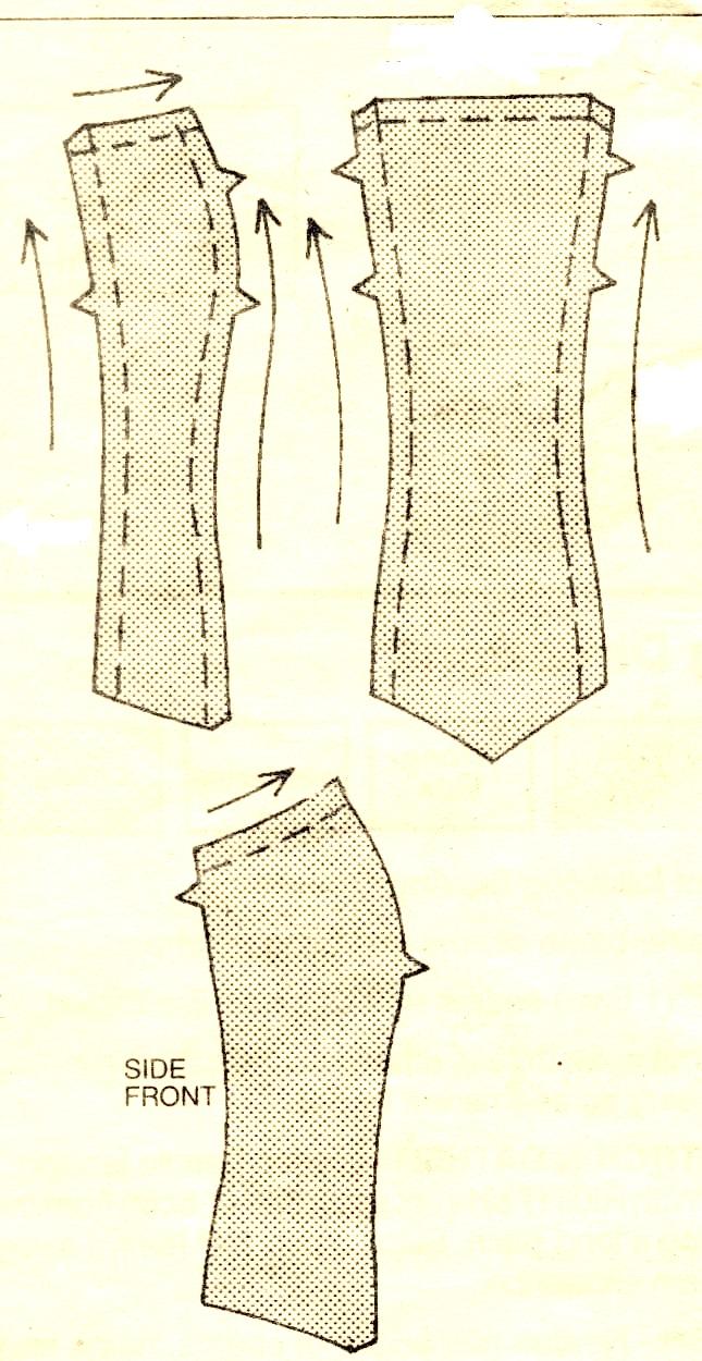Como coser el corset