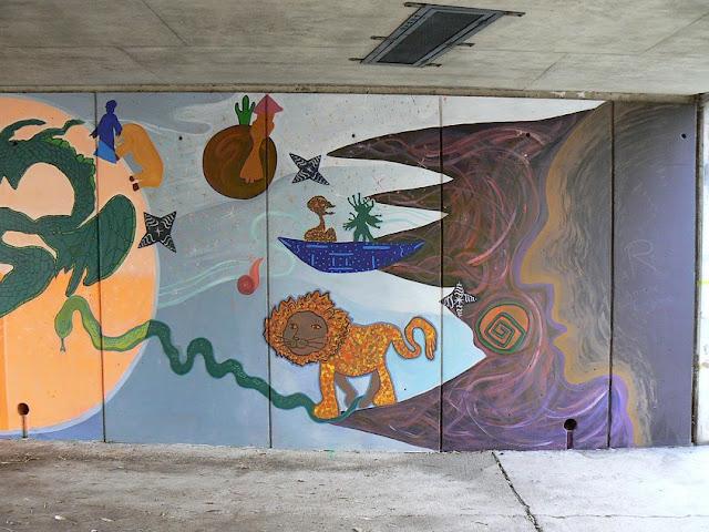 Evry daily photo quartier des epinettes evry art for Ecole d art mural